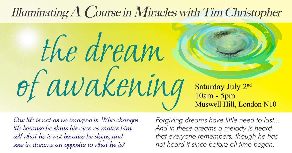 the dream of awakening with tim christopher